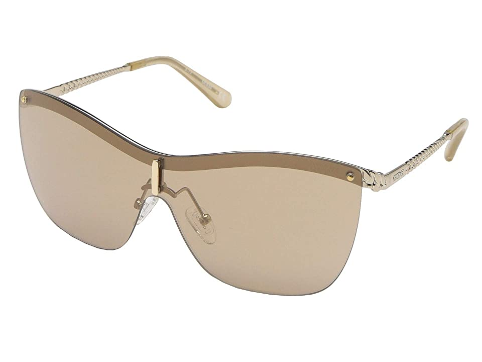 GUESS GU7471 (Gold/Brown Mirror 1) Fashion Sunglasses