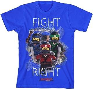 LEGO Ninjago Big Boys' Ninja Fight Tee
