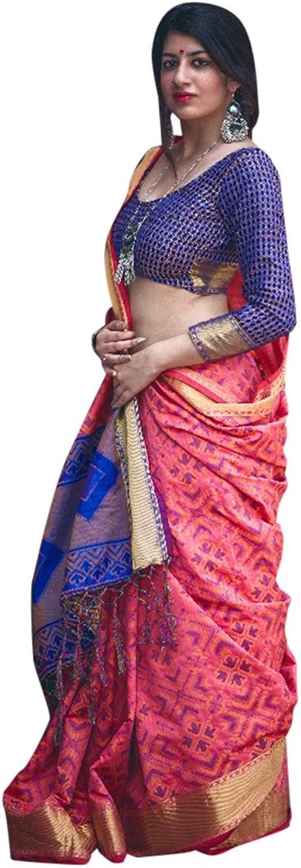 Bollywood Wedding Collection Saree Sari Blouse Designer Muslim Women Indian Ethnic 856