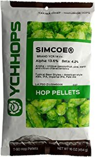HopUnion Simcoe Hop Pellets 1 lb.