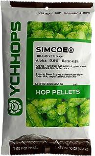 Home Brew Ohio - HOZQ8-1179 Simcoe Hop Pellets-1 Pound