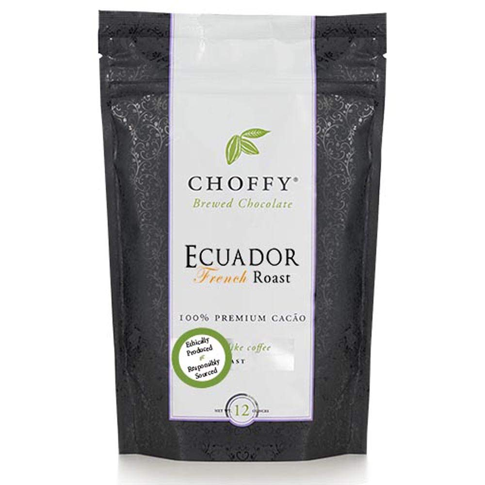 lowest price Choffy Brewed Chocolate Ecuador French Outlet sale feature altern coffee 12oz Roast