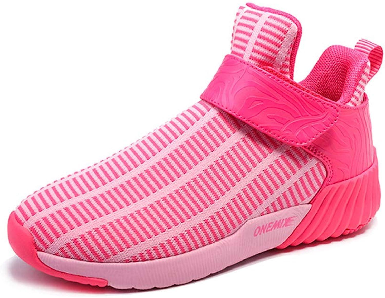 ONEMIX Unisex Print Slip-on Casual Walk Trainer Elastic Mesh Sneakers with Vecro Strap