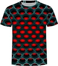 Leomodo Burning Honeycomb Briquette Graphic Tee Men