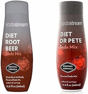 SodaStream 14.8 fl Diet Dr Pete & Diet Root Beer Combo - Twin Pack