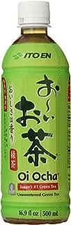 Ito En Tea Beverage, Unsweetened Oi Ocha Green, 16.9 Ounce Bottles (24-count)