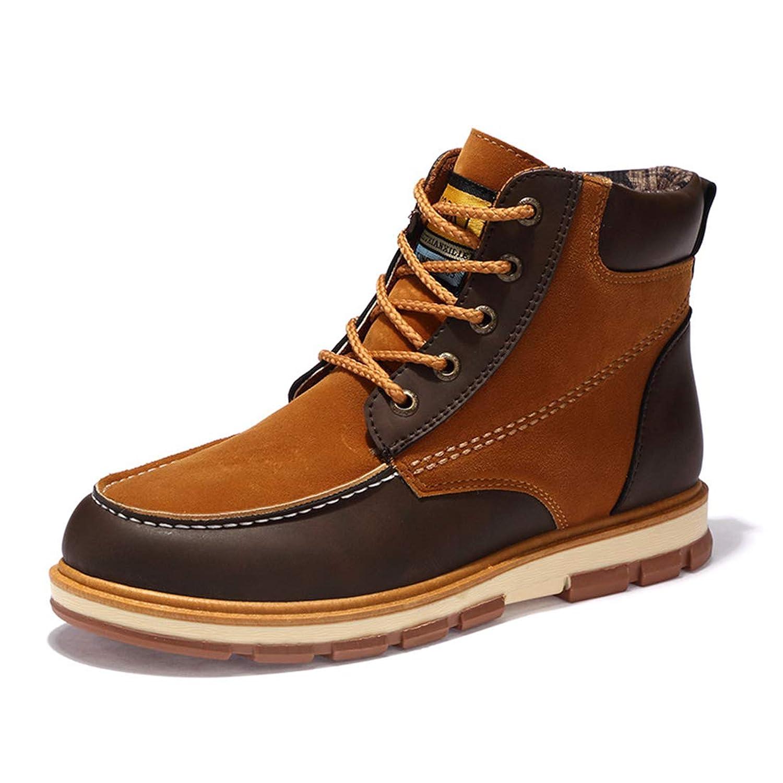 [Sking] ダイビング用ブーツ 牛仔ブーツ 増高 ダンパー 暖かい- 防滑-耐滑-滑り止め 厚 ウエッジ ローヒール1-3CM 秋 レディース ブーツ 室内ブーツ