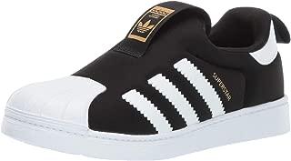 Baby Superstar 360 Running Shoe, Core Black/White/White, 6K
