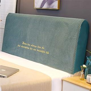 HDGZ Cabecero Cojines Respaldo Cubierta para Cabecero De Cama A Prueba De Polvo Funda De Cabeceros De Cama para La Decoración del Dormitorio (Color : Green, Size : 1.2M)