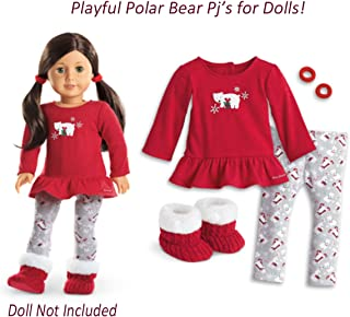 American Girl - Playful Polar Bear PJS for Dolls - Truly Me 2015