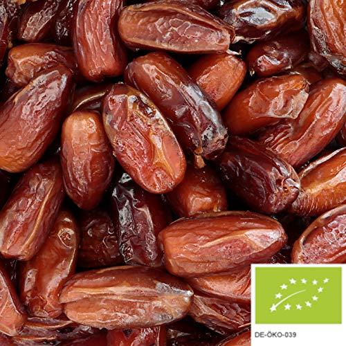 1kg BIO Datteln Deglet Nour entsteint - naturbelassene und getrocknete Datteln aus Tunesien, ohne jegliche Zusätze
