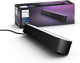 Philips - Hue Play White & Color Ambiance Smart LED Bar Light - Black (Single Pack) (Renewed)