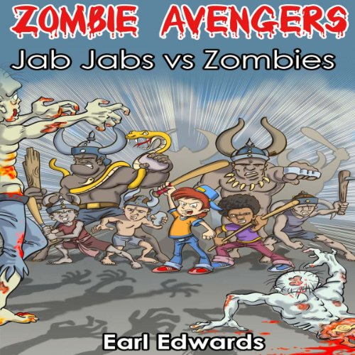Zombie Avengers audiobook cover art