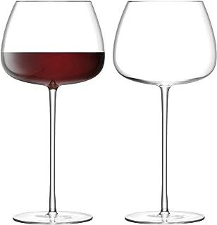 LSA International G1427-21-191 Culture Wine Balloon Glass, One Size, Clear