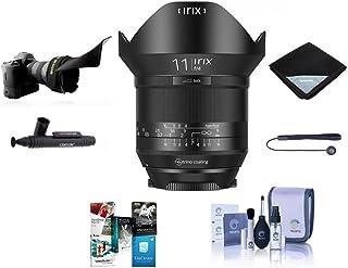 Irix 11mm f/4.0 Blackstone Lens for Canon EOS DSLR Cameras - Manual Focus Bundle with Flex Lens Shade, Lens Wrap, Cleaning...