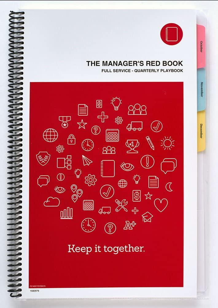 The Manager's Red Book - Service Spring new work one after another l Dealing full price reduction Full Communication Restaurant