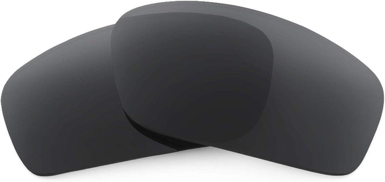 Revant Verres de Rechange pour Oakley Splinter - Compatibles avec les Lunettes de Soleil Oakley Splinter Noir Furtif - Polarisés Elite