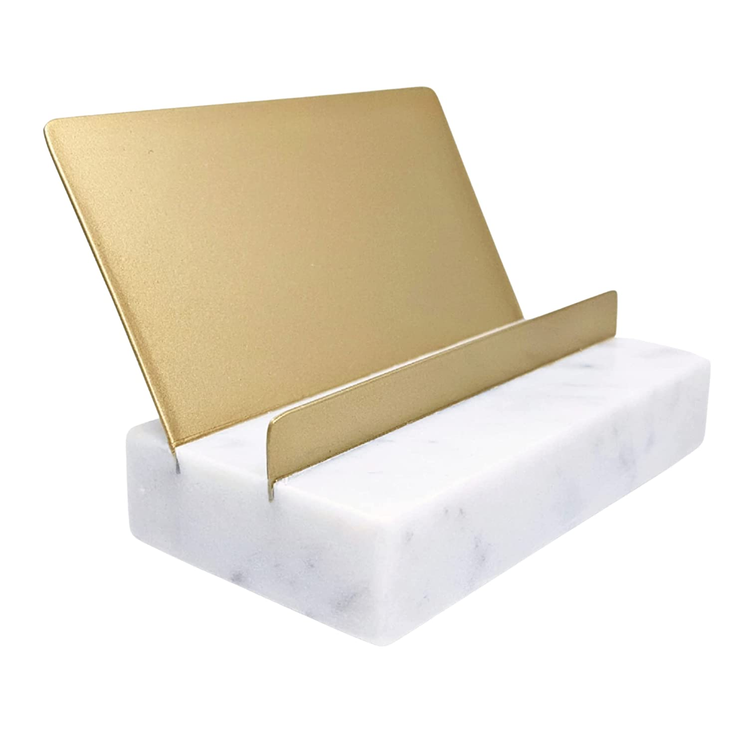 Marble and specialty shop Gold Decor Year-end gift Office Desk Business Accessories Card Hold