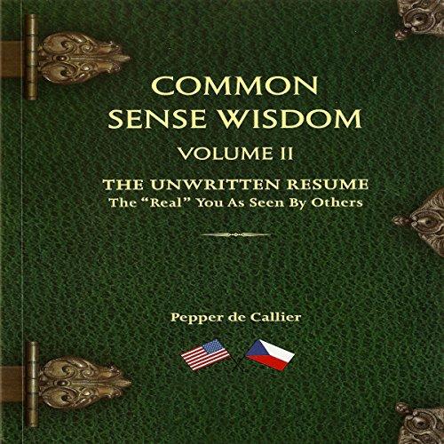 Common Sense Wisdom, Volume II cover art