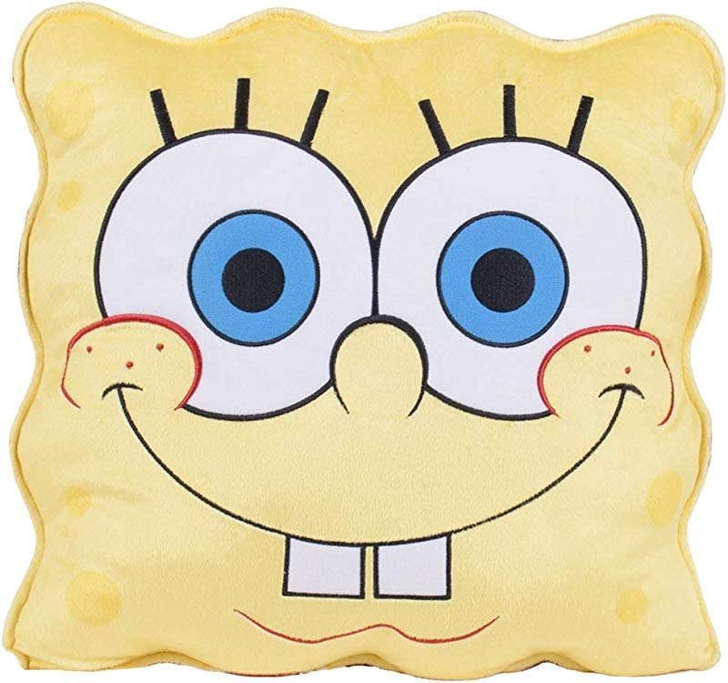 Entertainment Retail Enterprises Spongebob Squarepants And Friends Plush Pillow