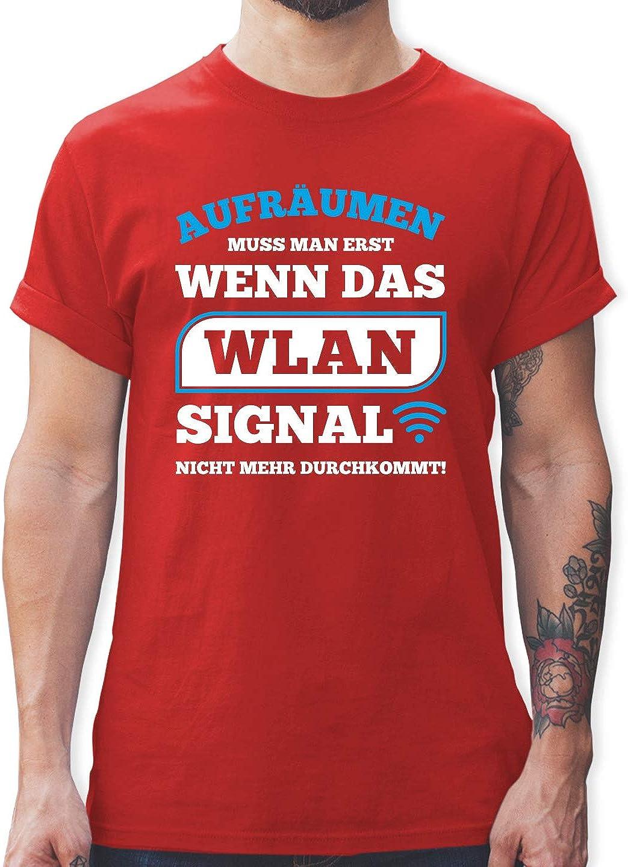 Aufräumen Erst Wenn WLAN Signal Nicht Mehr Durchkommt Teenager Premium T-Shirt
