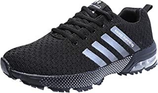 Men's Air Cushion Breathable Running Shoes Lightweight Cross-Training Fashion Sneakers Sports Shoes