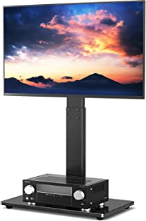 TAVR Universal Floor TV Stand Base with Swivel Height Adjustable Mount for 32 37 42 47 50 55 60 65 inch Plasma LCD LED Fla...
