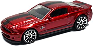 Hot Wheels 2010 Ford Shelby GT-500 Super Snake In Burgundy