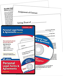 Adams® Personal Legal Forms and Agreements