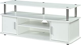 Convenience Concepts 151401W Designs2Go Television Stand, White