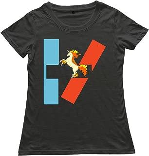 Twenty One Pilots Circle Logo Rapidash Girls T-Shirt