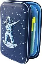 Galaxy Space Pencil Case Box Holder Pen Bag -3D Hard Shell Large Capacity Dabbing Spaceman Astronaut | Lime & Lane Galaxy School Set