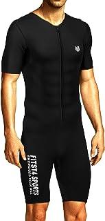 کت و شلوار مردانه سونا FitsT4 سونا سونی MMA Neoprene پیراهن سریع لاغری برای اصلاح تمرینات بدنسازی بدنسازی