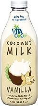 Vita Coco Coconut Milk, Vanilla, 42.27 Fluid Ounce (Pack of 06)