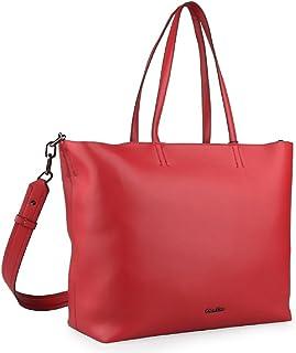 a34ee31053 Calvin Klein , Sac pour femme à porter à l'épaule Rouge rouge 49 x