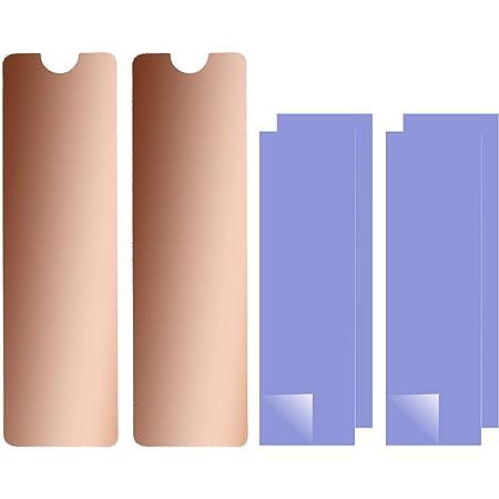 ナノサーマルパッド付きラップトップNVMe M.2ヒートシンク、2280 M2 SSDラップトップ用ヒートシンク銅(2pcs)