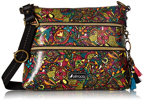 Sakroots womens Women's Artist Circle Cross Body Handbag, Rainbow Spirit Desert, One Size US