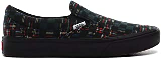 ComfyCush Slip-On (Plaid Check) Green/True White Men's...