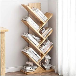 FEANG Boîte à étagères de la bibliothèque de l'arbre en Bois Bibliothèque Bibliothèque de Rangement Étagères de Rangement ...