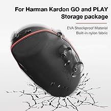 Altavoz Bolsa De Almacenamiento EVA Estuche Rígido Protección De Viaje Estuche Portátil Altavoz Bluetooth Portátil Funda Protectora Adecuada para Harman Kardon GO and Play