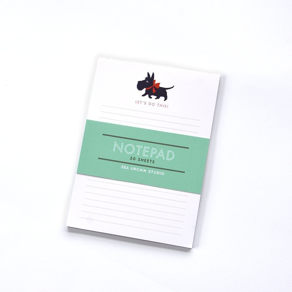 Scotty dog notepad Shipping included list do Albuquerque Mall to