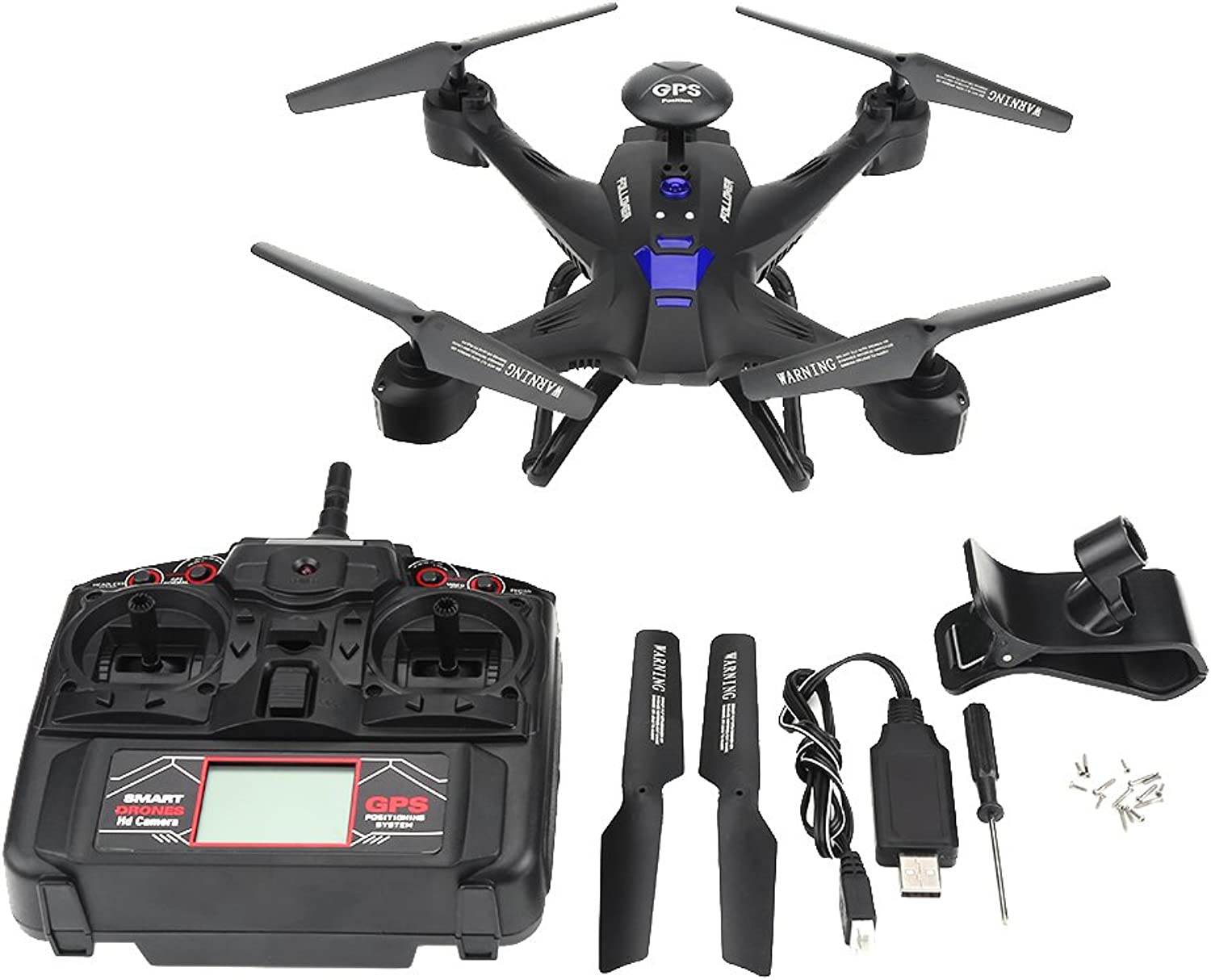 RC Quadcopter Drone, WiFi Hhe Halten RC Drone Headless Modus mit 2.0MP Kamera