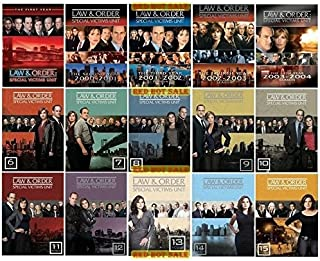 Law and Order Special Victims Unit Complete Series Seasons 1-15 DVD Bundle (1,2,3,4,5,6,7,8,9,10,11,12,13,14,15)