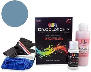 Dr. ColorChip Honda Civic Automobile Paint - Proton Blue Metallic/Atomic Blue Metallic B-537M - Road Rash Kit