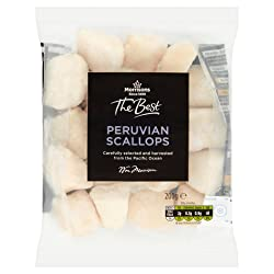 Morrisons The Best Peruvian Scallops, 200 g (Frozen)