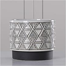 LJBH Ceramic Flower Pots, Creative Painted Flower Pots, Craft Home Living Room Decorations Exquisite workmanship, sturdy and durable (Size : C)