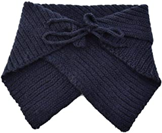 Kids Winter Scarf Thick Knitted Warm Toddler Infinity Scarf for Boys Girls