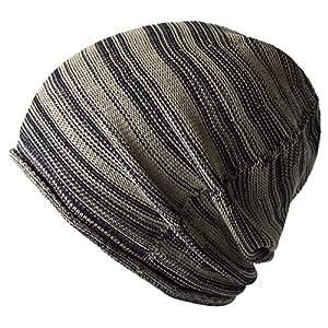 (エッジシティー)EdgeCity コットン アクリル ニット帽 大きいサイズ メンズ 日本製 L(000457-0016-61)