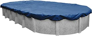 Robelle 491833-4 Rip-Shield Pro-Select Winter Pool Cover for Oval Above Ground Swimming Pools, 18 x 33-ft. Oval Pool