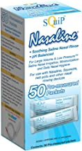 Squip Nasaline Salt-box Of 50 Pre-measured Packets, 400 Ounce